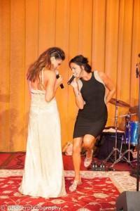 Erika and Natalie onstage Wyndham Downtown Pittsburgh