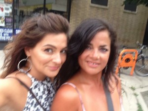 Natalie and Erika on the loose in Chicago